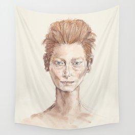Tilda Swinton Inspiration Wall Tapestry