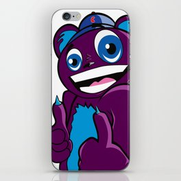 Rad Bear  iPhone Skin