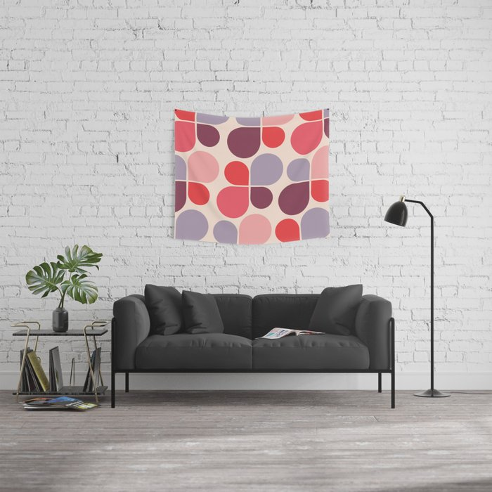 abstract drops Wall Tapestry