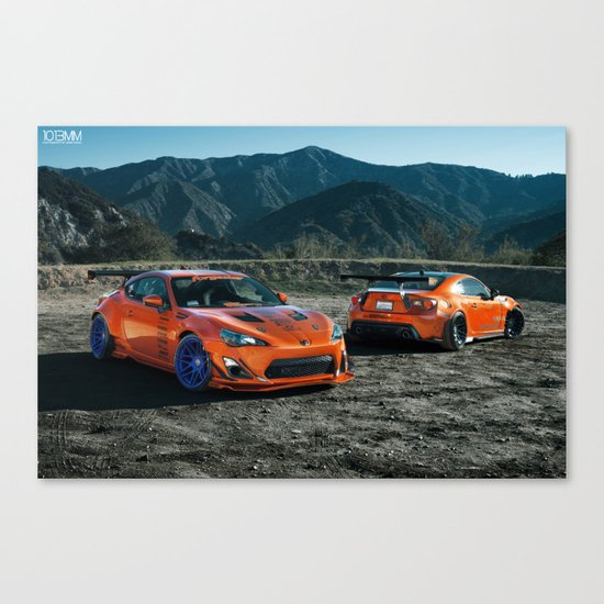 Rocket Bunny Scion FR-S Canvas Print