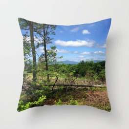 White Oak Road - Summer Throw Pillow
