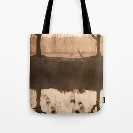The Early Bird Captures The Shot Tote Bag