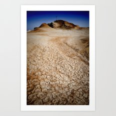 BADLANDS Art Print