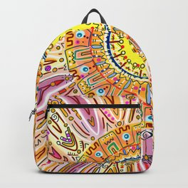 Sun Drawing Backpack