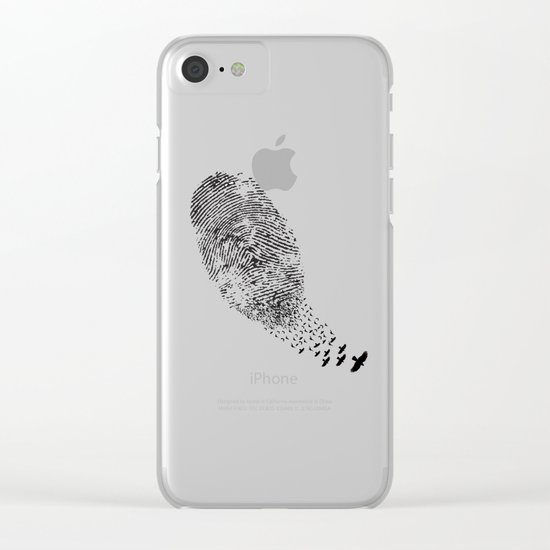 Sign Clear iPhone Case