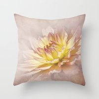 passion Throw Pillows featuring Passion by Kimberley Britt