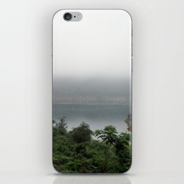 misty pond iPhone Skin