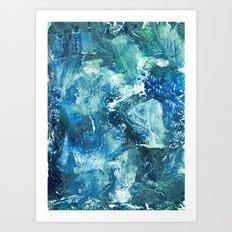 Aquosa Art Print