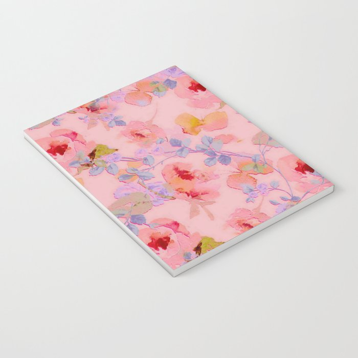 girly floral Notebook