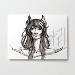 The Nine-Tailed Fox Metal Print