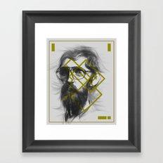 Man From Earth Framed Art Print