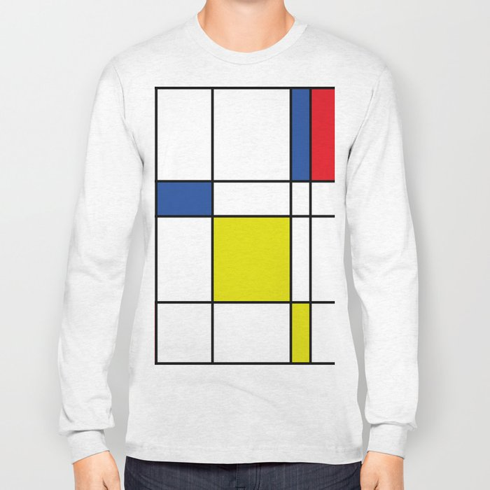 Mondrian 1 Long Sleeve T-shirt
