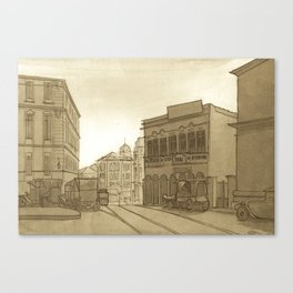 Sao Paulo 1910 Canvas Print