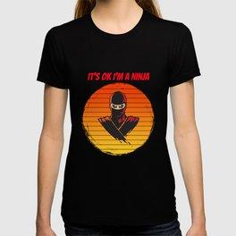 ninja for people who like ninjas  T-shirt