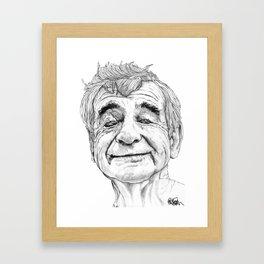 Walter Matthau Framed Art Print