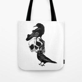 Two Ravens Tote Bag