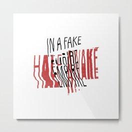 Fake Empire Metal Print