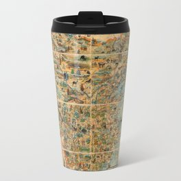 Pictorial Map of China - 1931 Travel Mug