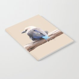 Poly Blue-bellied Roller Notebook