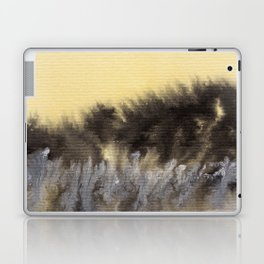 Watercolor abstract landscape 09 Laptop & iPad Skin