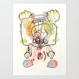 Sensory Systems 4 Art Print