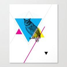 HYPSTER OWL Canvas Print