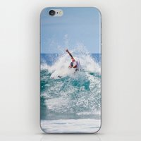 surfer iPhone & iPod Skins featuring Surfer by Carmen Moreno Photography