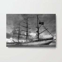 Portuguese tall ship Metal Print