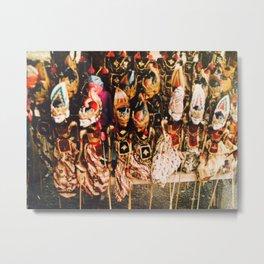 Wayang Metal Print