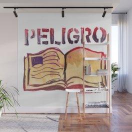DANGER- PELIGRO Wall Mural