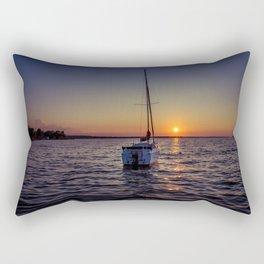 A day's end Rectangular Pillow