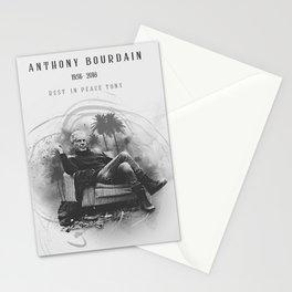 Anthony Bourdain RIP Stationery Cards