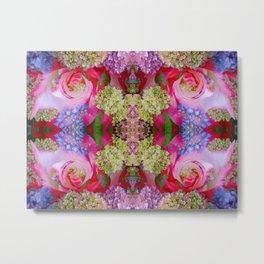 Flowerium geometry II Metal Print