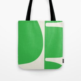 """'Betty"""" Bold Abstract Modern in Green Tote Bag"""
