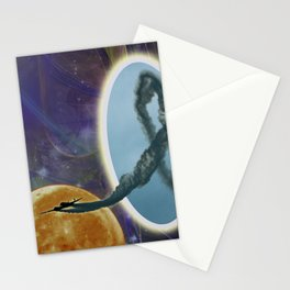 Into Another Dimension Stationery Cards