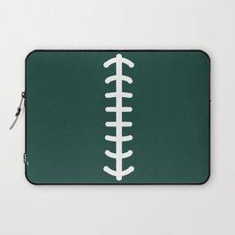 Football Green Laptop Sleeve