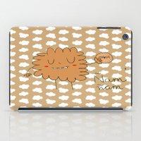cookie iPad Cases featuring Cookie by EnelBosqueEncantado