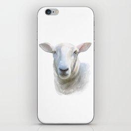 Watercolor Sheep iPhone Skin