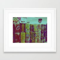 singapore Framed Art Prints featuring Singapore by Alex Rose