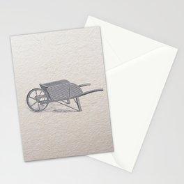 Wheel barrow Stationery Cards