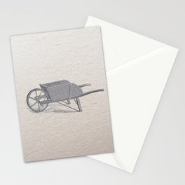 Wheel barrow Stationery Cards