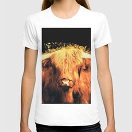 Cow art #cow #animals T-shirt