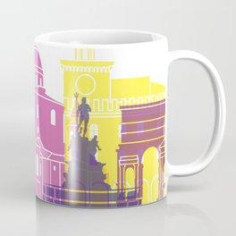 Bologna skyline pop Coffee Mug