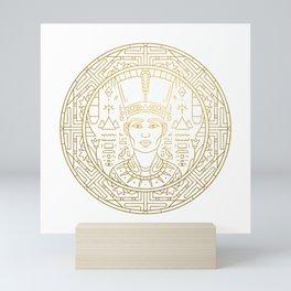 Pharao Mandala – Egypt Mini Art Print