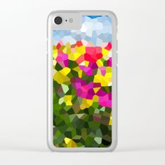 Spring Dreams Clear iPhone Case