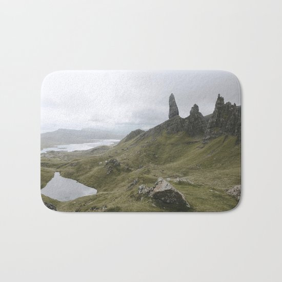 The Old Man of Storr - Landscape Photography Bath Mat