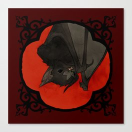 Vampire Bat Canvas Print
