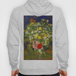 Bouquet of Flowers in a Vase Vincent van Gogh Oil on canvas 1890 Hoody