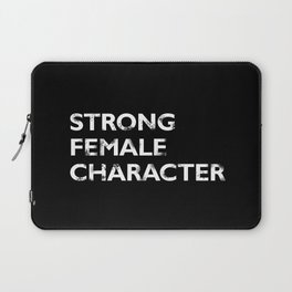 Strong Female Character Laptop Sleeve