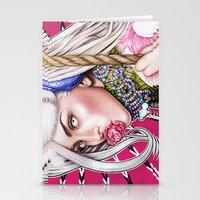 artrave Stationery Cards featuring artRAVE by Denda Reloaded